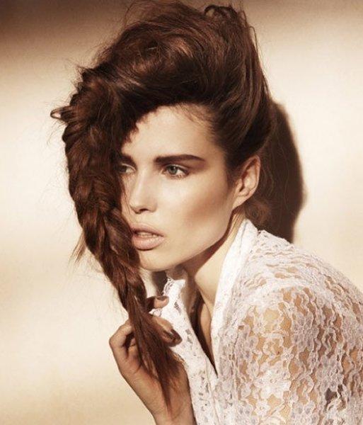 экстримальные прически на длинные волосы