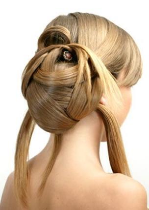 кудрявые волосы прически,