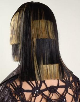 накладные пряди волос прически